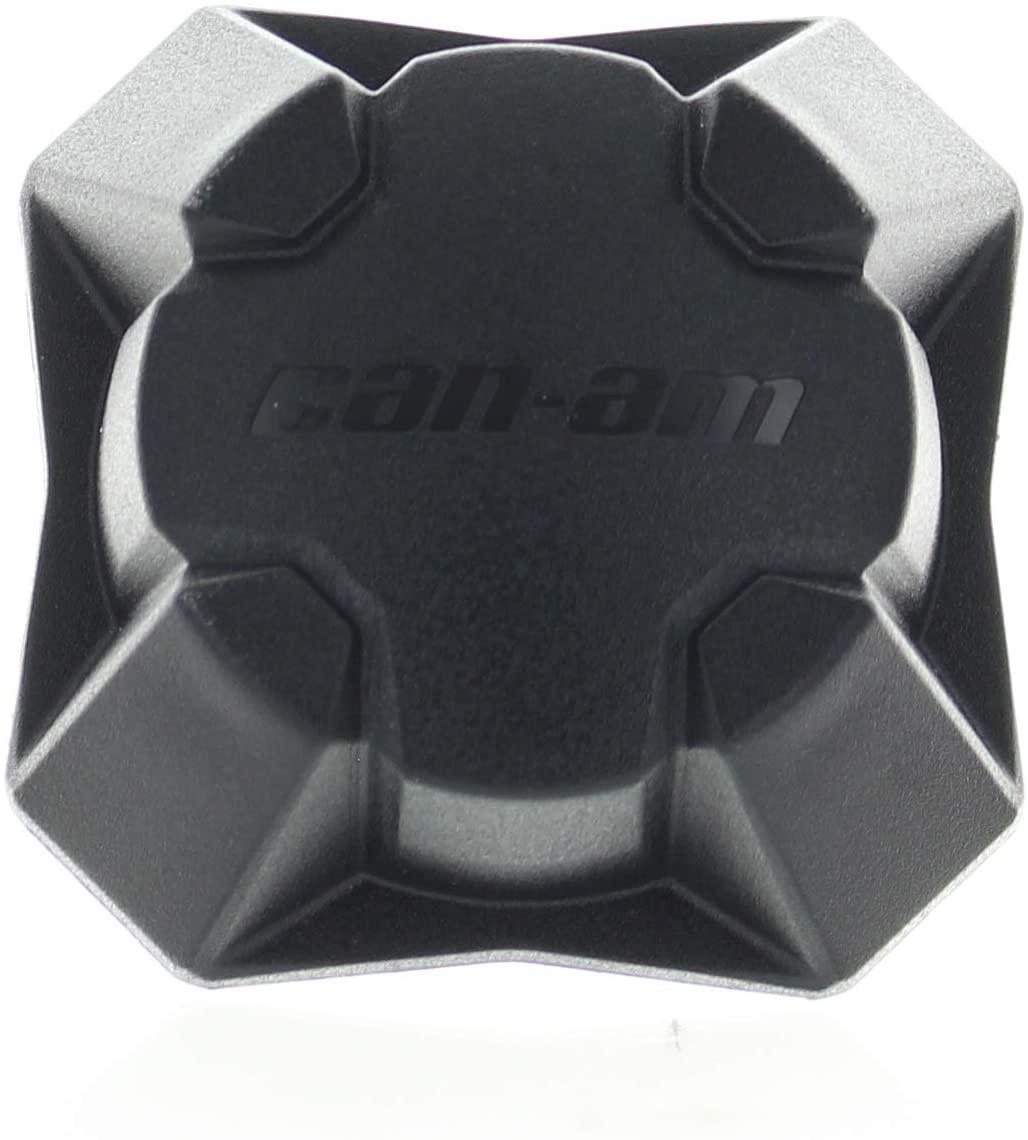 Can-Am New OEM UTV Black Wheel Cap Cover, Commander Maverick Defender, 705401541