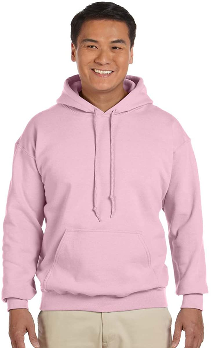 Gildan Youth 7.75 oz. Heavy Blend 50/50 Hood - Light Pink - S G185B-simple