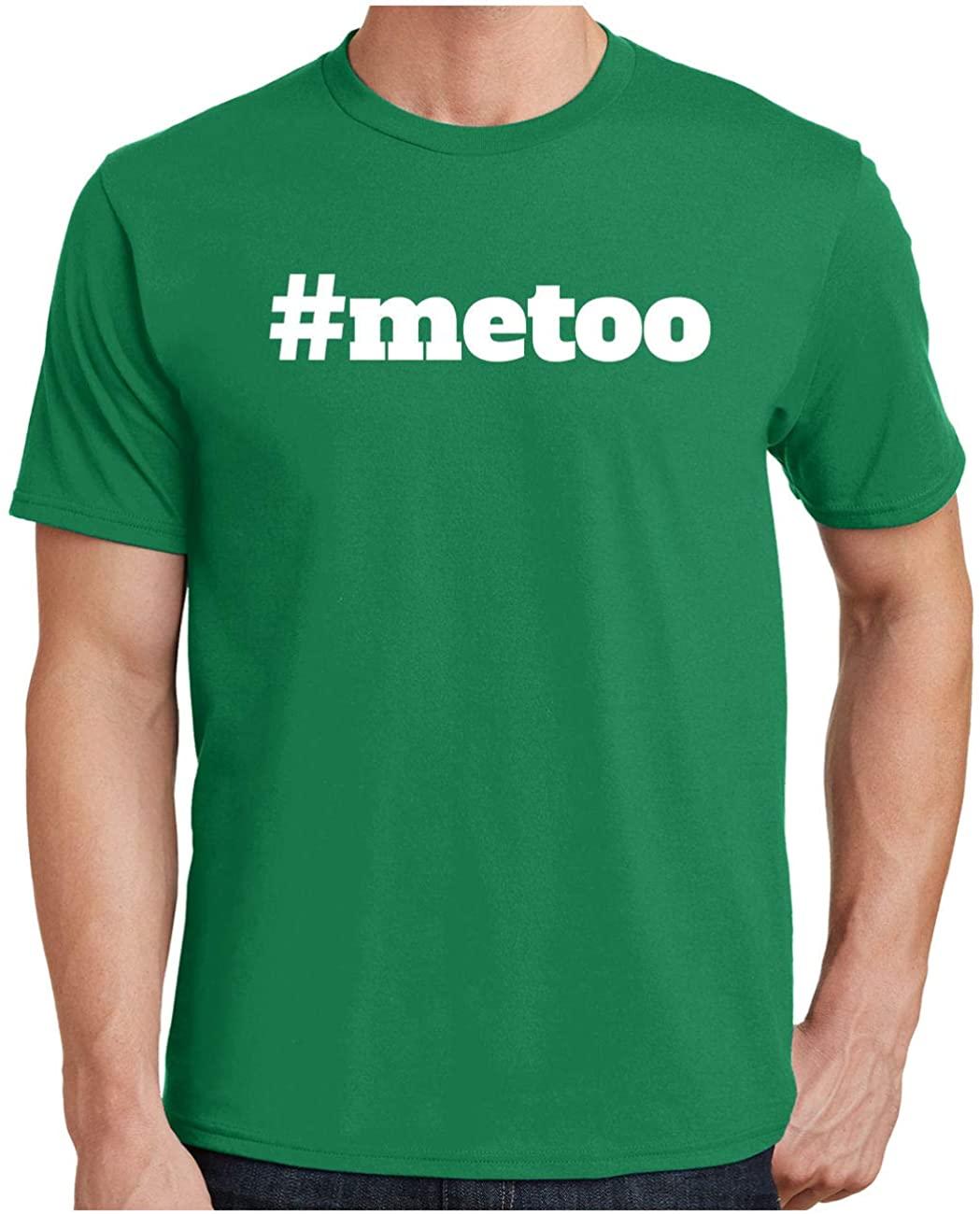 HARD EDGE DESIGN Men's #MeToo Block Plus Size Crew Neck T-Shirt, 5X-Large, Kelly Green