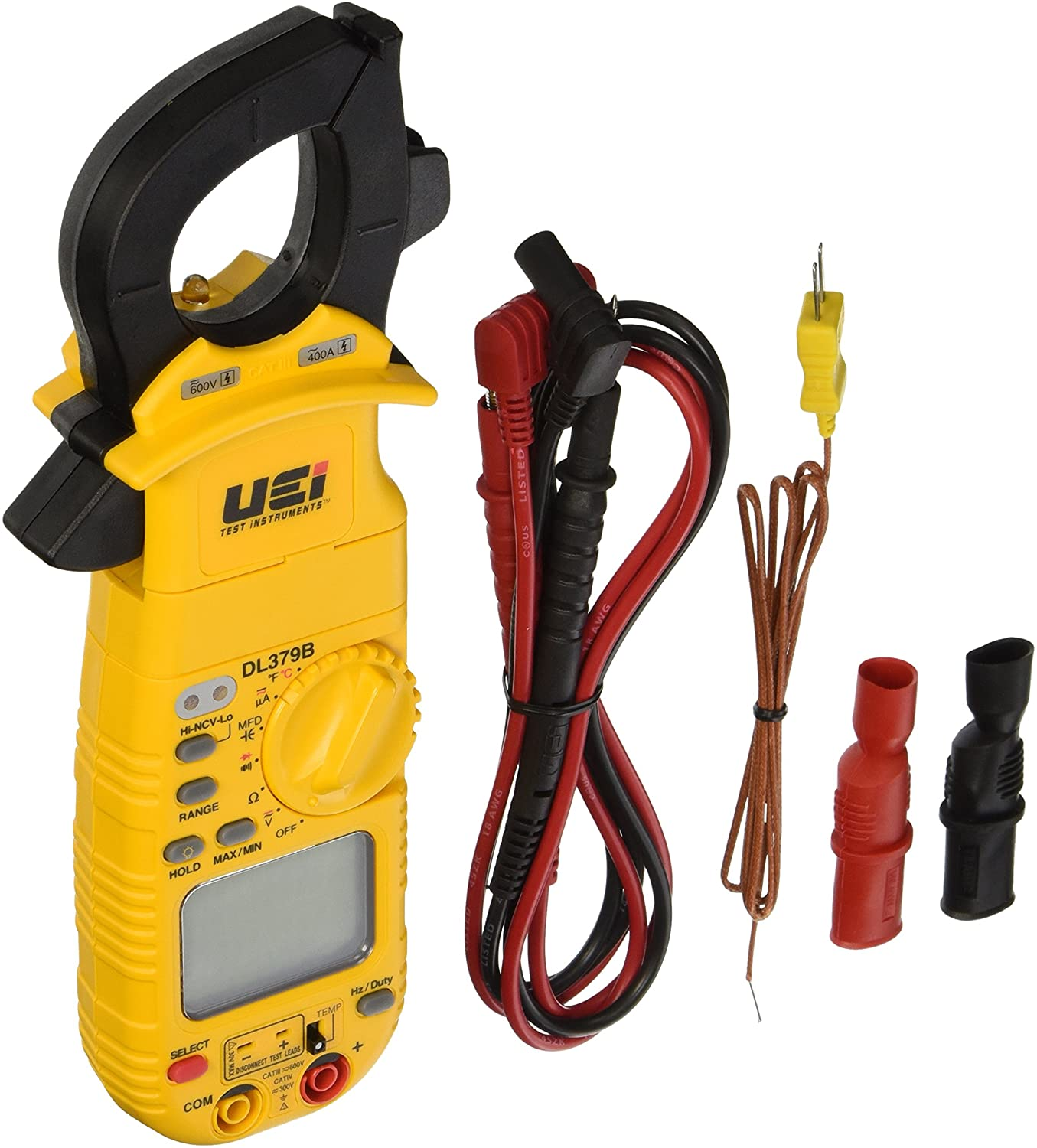 UEi Test Instruments DL379B Digital HVAC Clamp Meter