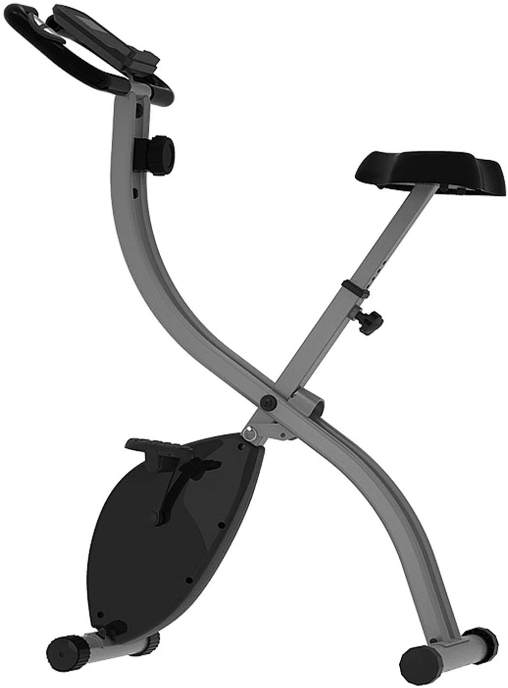 Douer Indoor Cycling Bicycle, Exercise Bike for Home, Fitness Bike with Pulse, with 8-Level Adjustable Magnetic Resistance, Easy Adjustable Seat, for Home Cardio Workout Bike Training