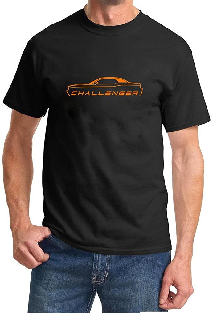 2008-15 Dodge Challenger Orange Classic Color Design Tshirt