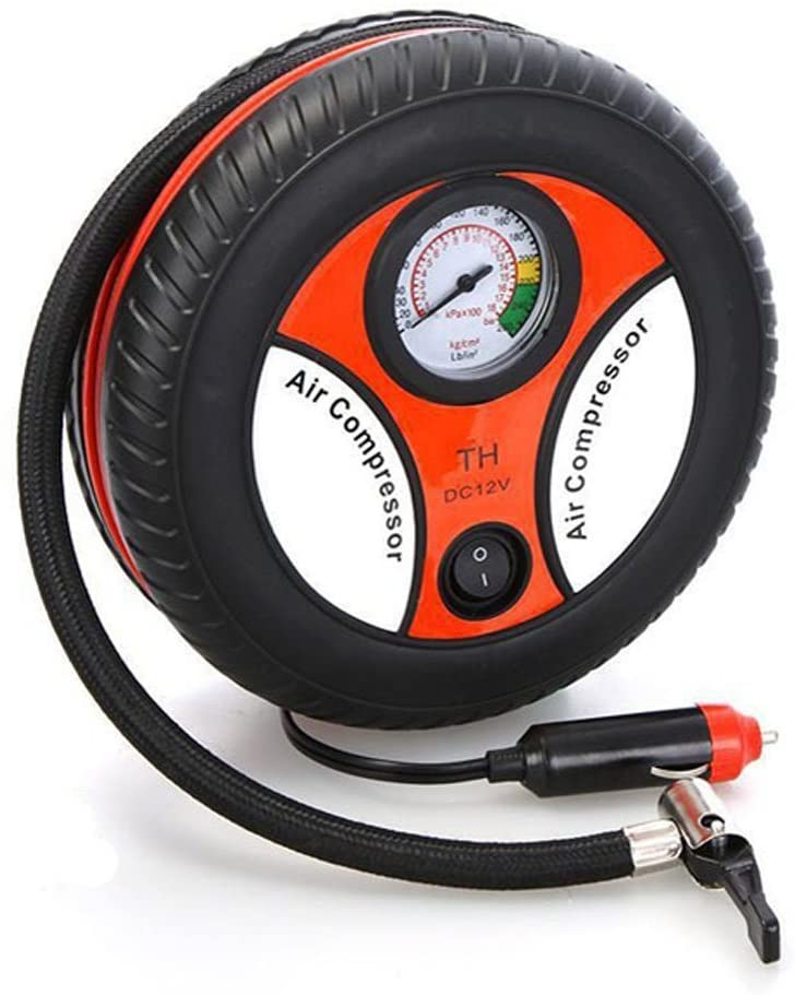 Mini Portable Car Air Compressor 12v Auto Inflatable Pumps Electric Tire Inflaters 260psi Bike Tires Rubber Floater Balls