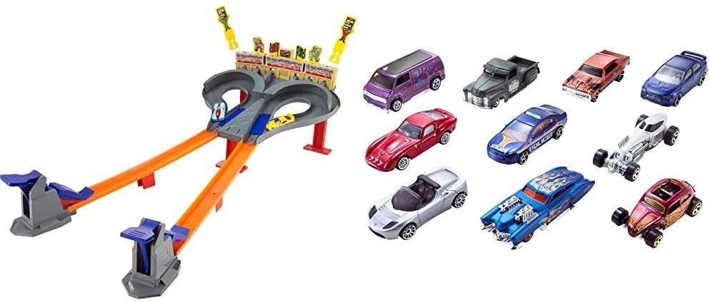 Hot Wheels Super Speed Blastway Dual Track Racing Ages 6 and Older & 10