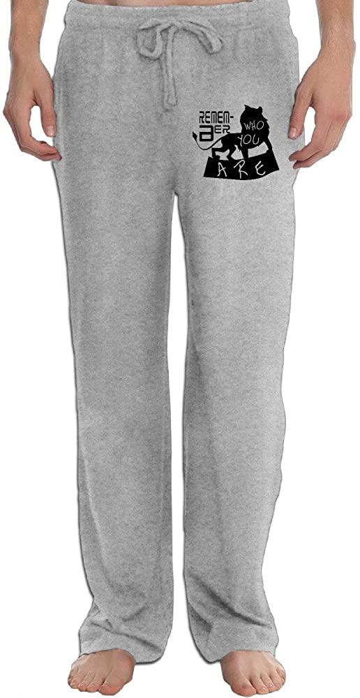 Hot Topic Men's The Lion King Simba Silhouette Pajama Pants