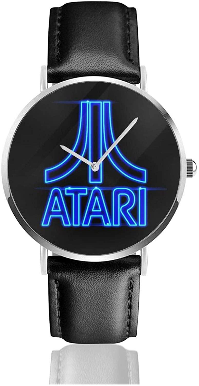 One Nation Design Atari Leather Watch Woman Watch Man Waterproof