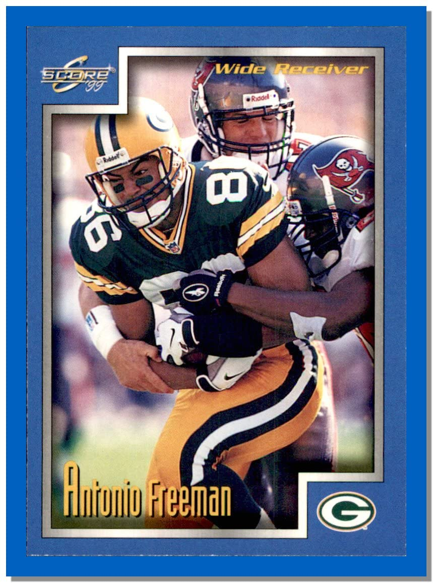 1999 Score #9 Antonio Freeman GREEN BAY PACKERS VIRGINIA TECH HOKIES