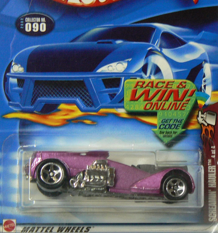 Spectraflame 2 Series #4 Screamin Hauler Metal base #2002-90 Collectible Collector Car Mattel Hot Wheels