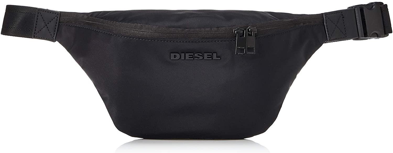 Diesel Men's ORYS F-SUSE DM Belt Bag, Black, UNI