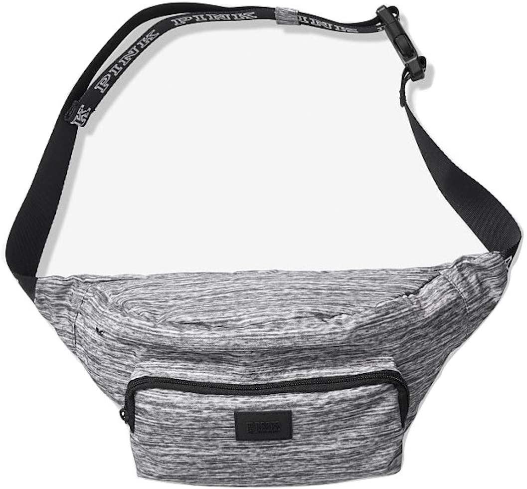 Victoria's Secret Pink New! Oversized Belt Bag, Grey Marl