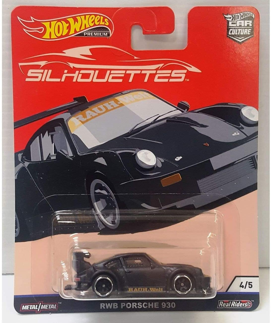 HOT WHEELS RWB PORSCHE 930 Vehicle