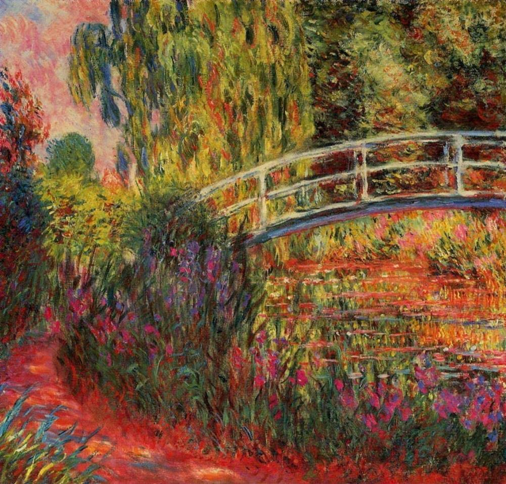33 Famous Flower Paintings - $50-$1000 Hand Painted by Academic Artists - Water Lily Pond Water Irises Claude Monet Flowers FRIM1 - Art Oil Painting on Canvas -Size03