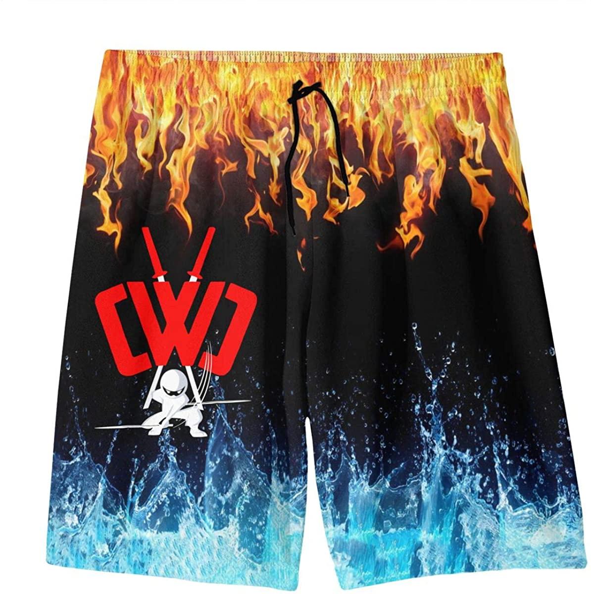 Cwc Chad Wild Clay Swim Trunks Boys Quick Dry Beachwear Sports Running Board Shorts