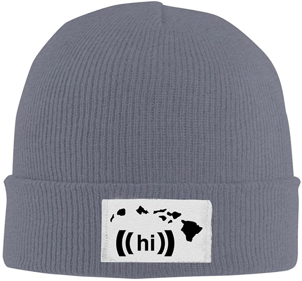 Hawaiian Islands Asphalt Knit Hat