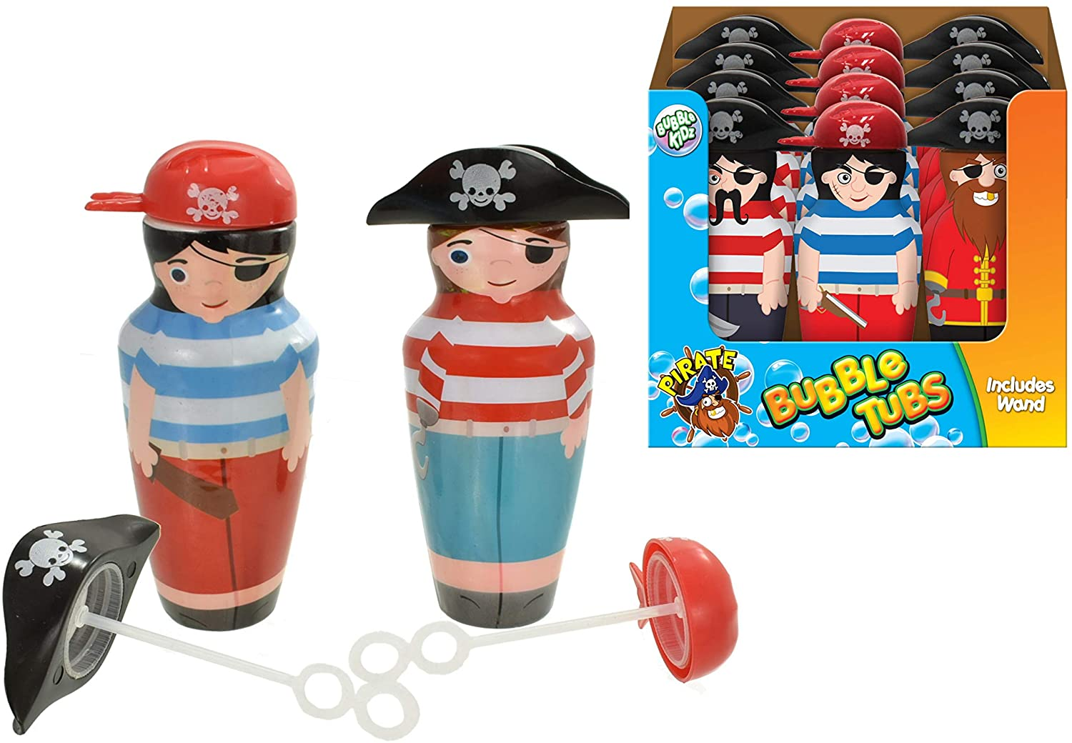 KandyToys TY9974 Kids Pirate Bubble Tubs