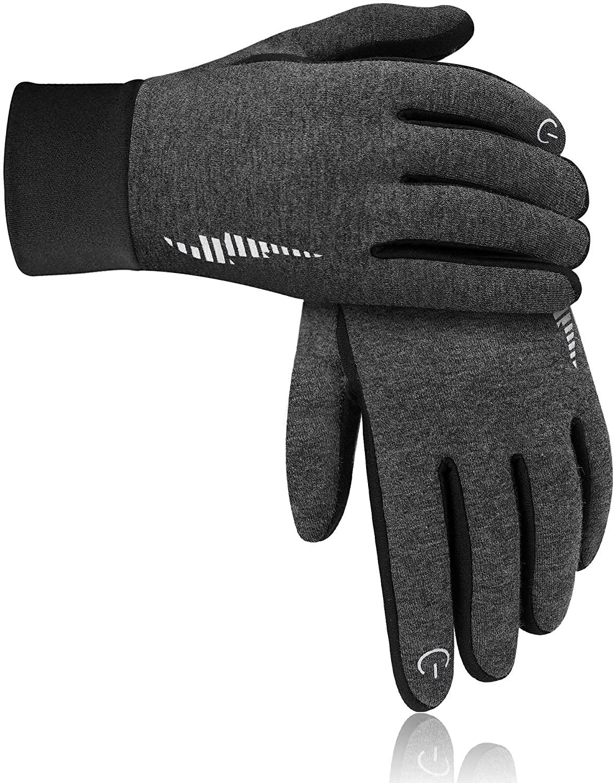 DB DEGBIT Warm Winter Gloves Windproof Touchscreen Running Workout Gloves for Men Women