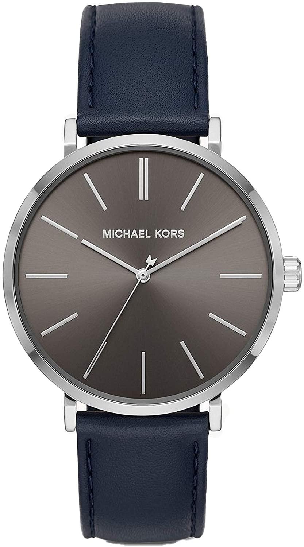 Michael Kors Men's Auden Three-Hand Silver-Tone Alloy Watch MK7148