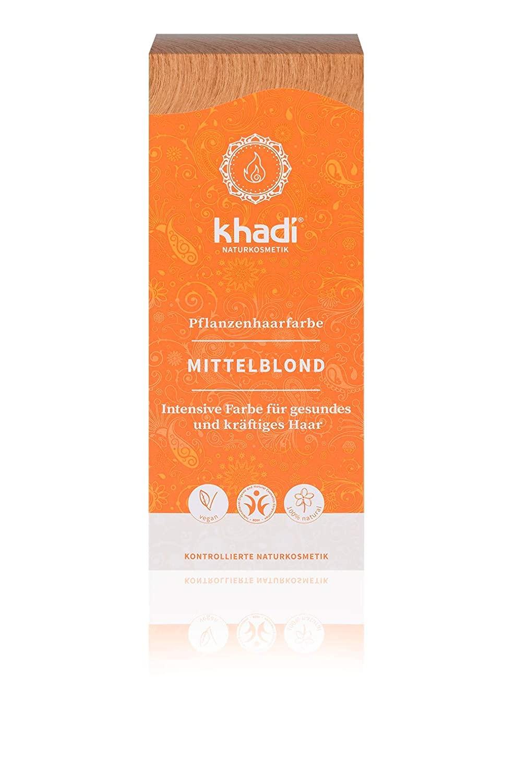 Khadi Herbal Hair Colour Blond Medium Blonde 100g
