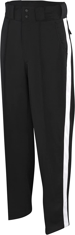 Adams Football Officials Pants - Black/White Stripe, 32