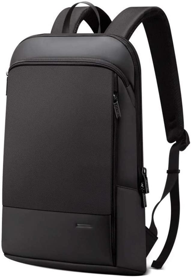 CHZE-JIIEE Shangiawen-beibao Backpack for Men, Slender Laptop Backpack Men 15.6 inch Office Work Men Backpack Business Bag Unisex Black Ultralight Backpack Thin Support Pack