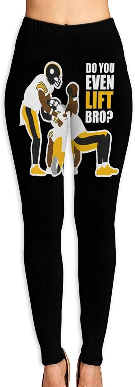 Women's Yoga Pants Get The Do You Even Lift Bro High Waist Workout Leggings Running Pants