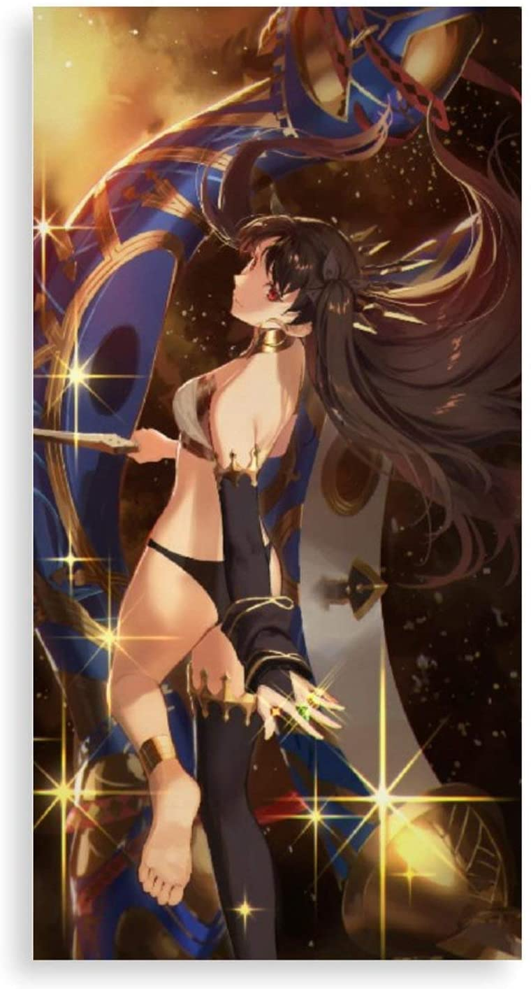 Ishtar Anime Posters and Prints Wall Pictures Bedroom Modern Decorations Creative Decorative Painting Wall Art Decor 16x8 inch Frameless