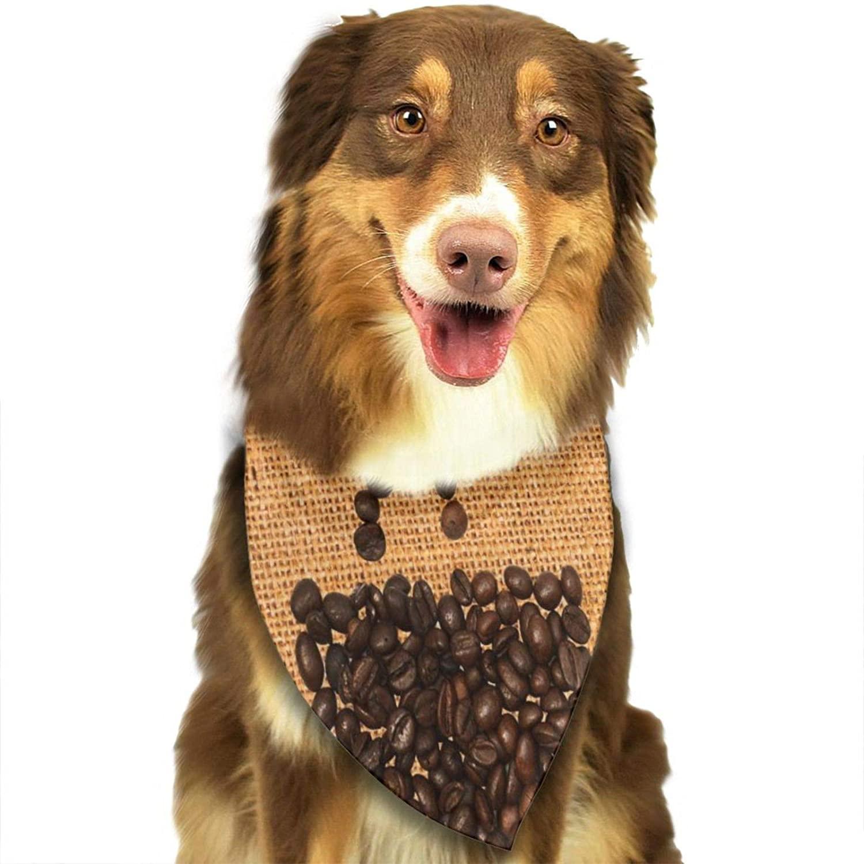lightly Seamless Mille-Fleurs Texture Dog Bandana, Pet Bandana Scarf Triangle Bibs Kerchief Pet Costume Accessories Decoration for Small Medium Large Dogs Cats Pets