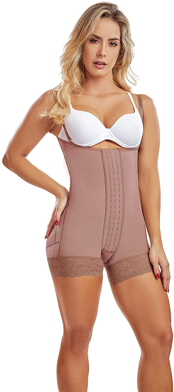 Faja Mia 0058 Fajas Colombianas Reductoras y Moldeadoras Body Shaper For Women Post Surgery Compression Garment