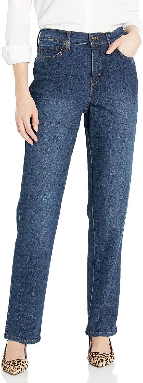 Gloria Vanderbilt Women's Petite Amanda Classic High Rise Tapered Jean, Scottsdale Wash, 4P Short