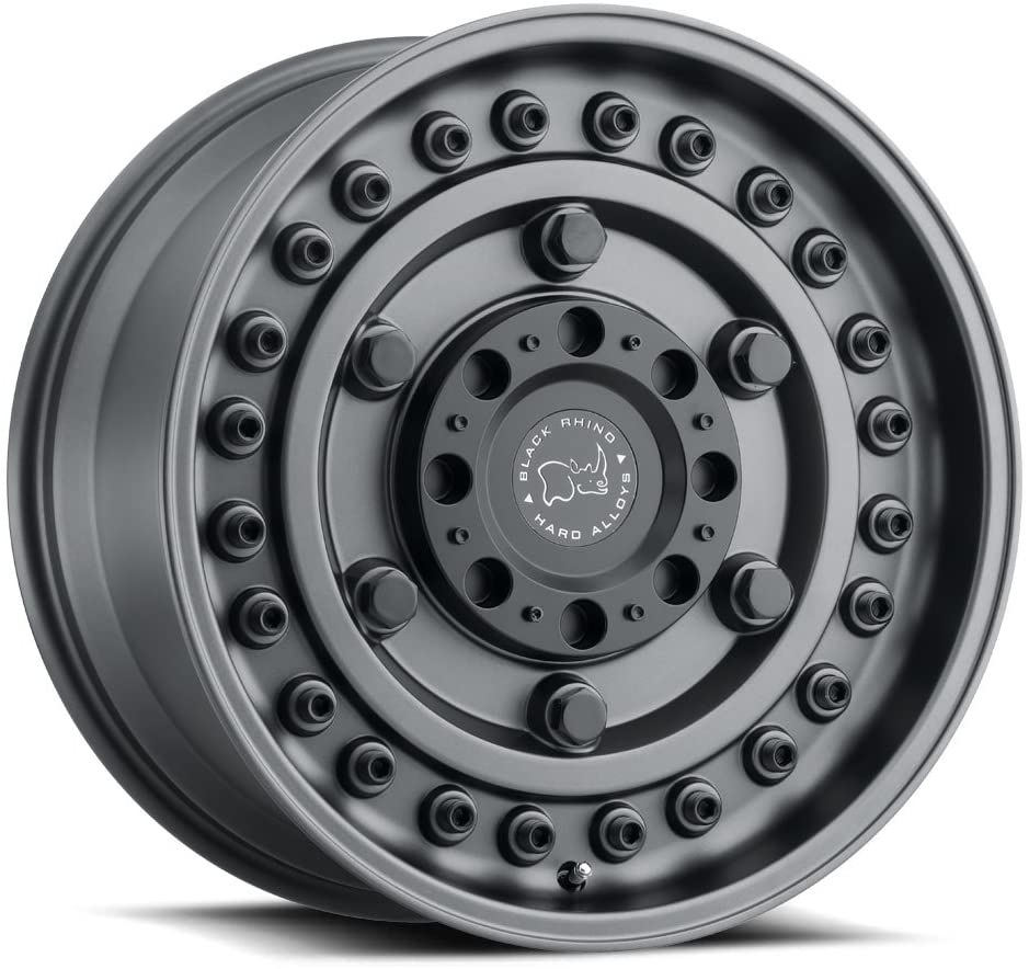 Black Rhino Armory Custom Wheel - 16x8, 38 Offset, 5x160 Bolt Pattern, 65.1mm Hub - Gunblack Rim