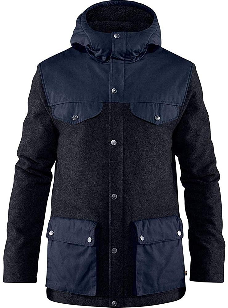 Fjallraven Greenland Re-Wool Jacket - Men's Night Sky, XS