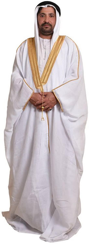Arab Dress Mens Thobe Saudi Mens Robe Eid