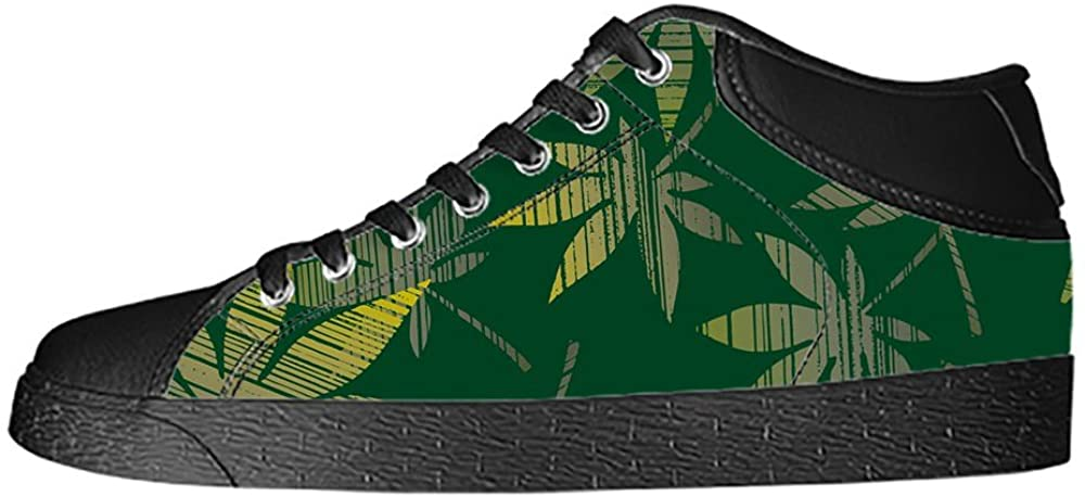 Daniel Turnai Fan Custom Green Grass Mens Classic High Top Canvas Shoes Fashion Sneaker