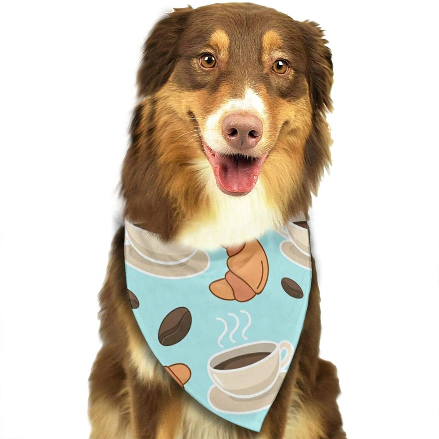 Chicken with Axe Dog Bandana, Pet Bandana Scarf Triangle Bibs Kerchief Pet Costume Accessories Decoration for Small Medium Large Dogs Cats Pets