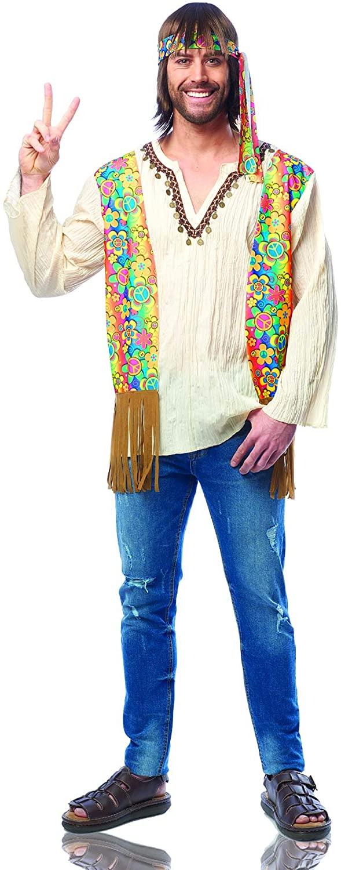 Costume Culture Mens Hippie Dude Costume