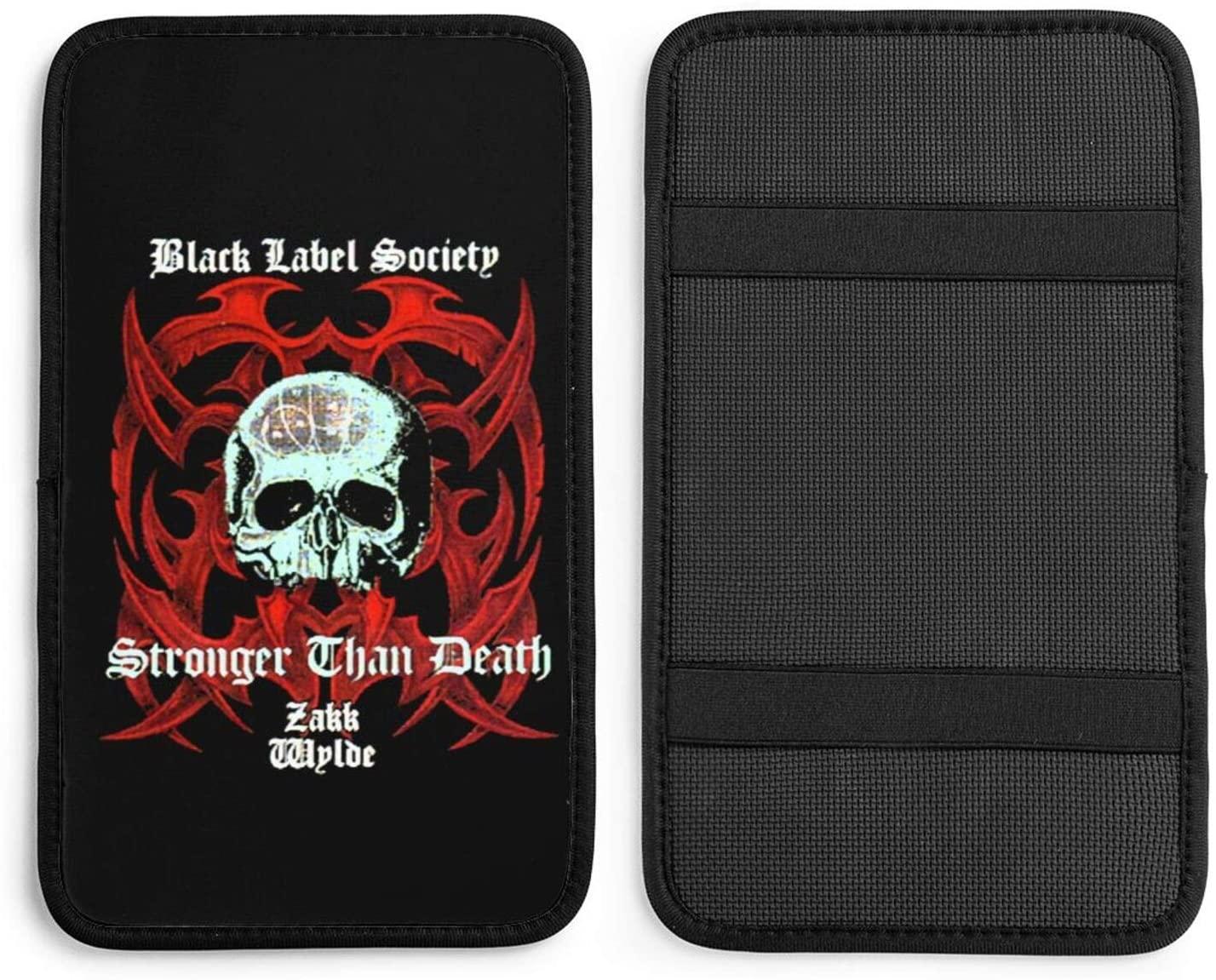 Opplsh Hdrejn Black Label Societycar Armrest Seat Box Cover Protective Cover Universal Decorative Cushion Auto Parts