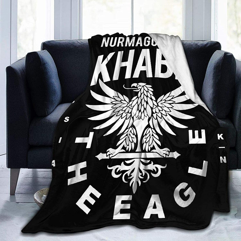 ACACAC Khabib Nurmagomedov Super Soft Luxury Bedding Blanket Printed Warm and Light Micro Blanket 50