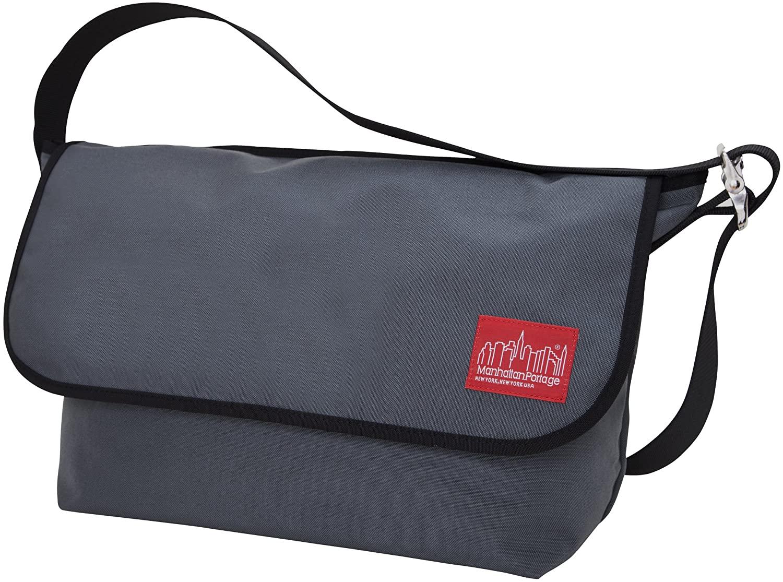 Manhattan Portage Vintage Messenger Bag (Grey)