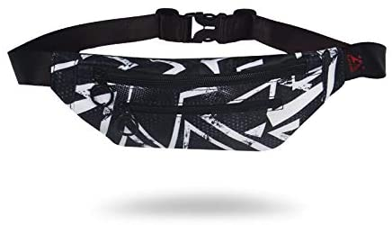 PLAYKING Fanny Pack Waist Bag For Men Women Soft Polyester Lightweight With Phone Hole And Adjustable Strap For Outdoor Running Traveling 15 Color (X04)