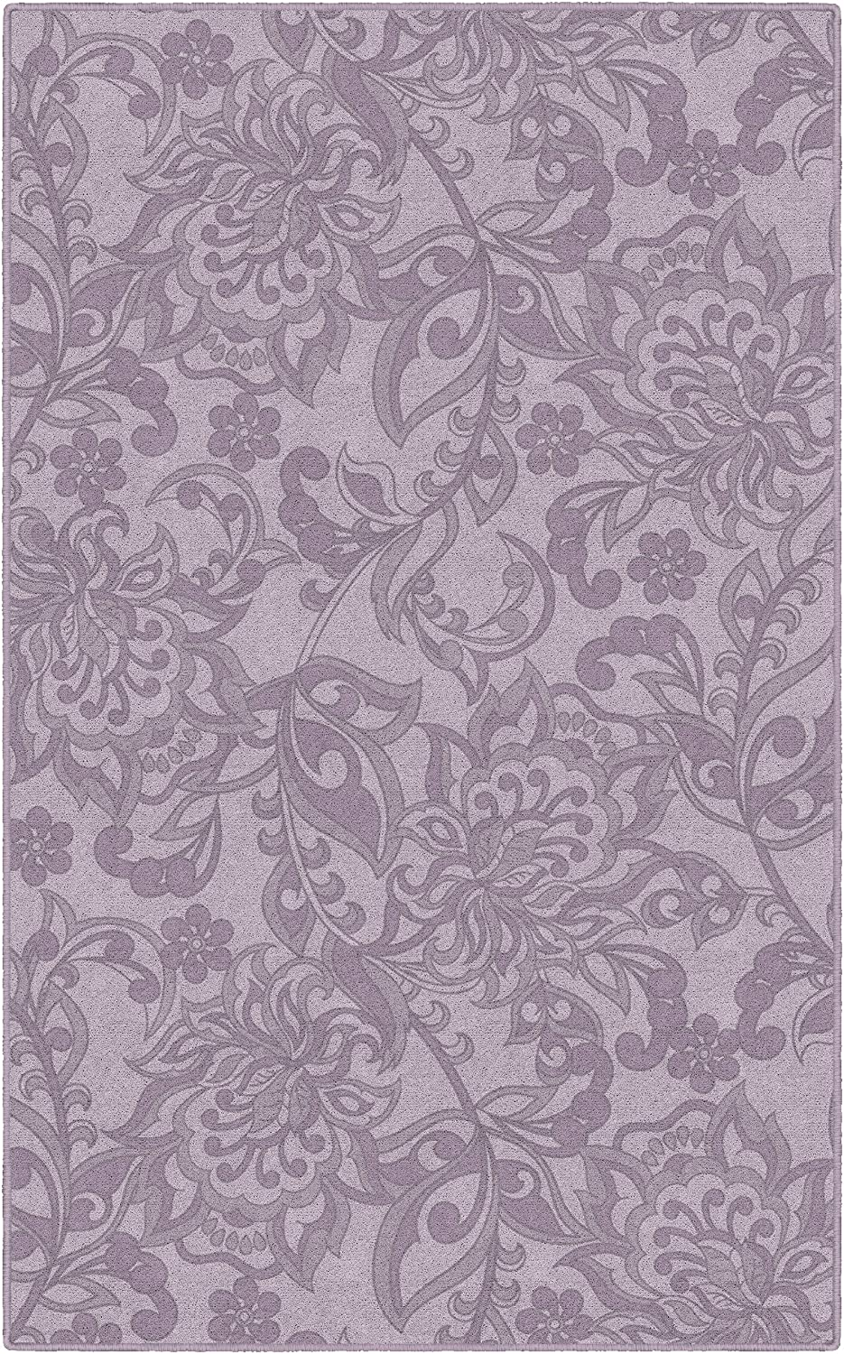 Brumlow MILLS Jacobean Traditional Floral and Paisley Pattern Print Home Indoor Area Rug for Living Room Decor, Dining Room, Kitchen Rug, or Bedroom, 7'6