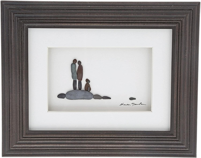 Sharon Nowlan Loyal and True Espresso Finish 10 x 8 Dimensional Framed Wall Art Plaque
