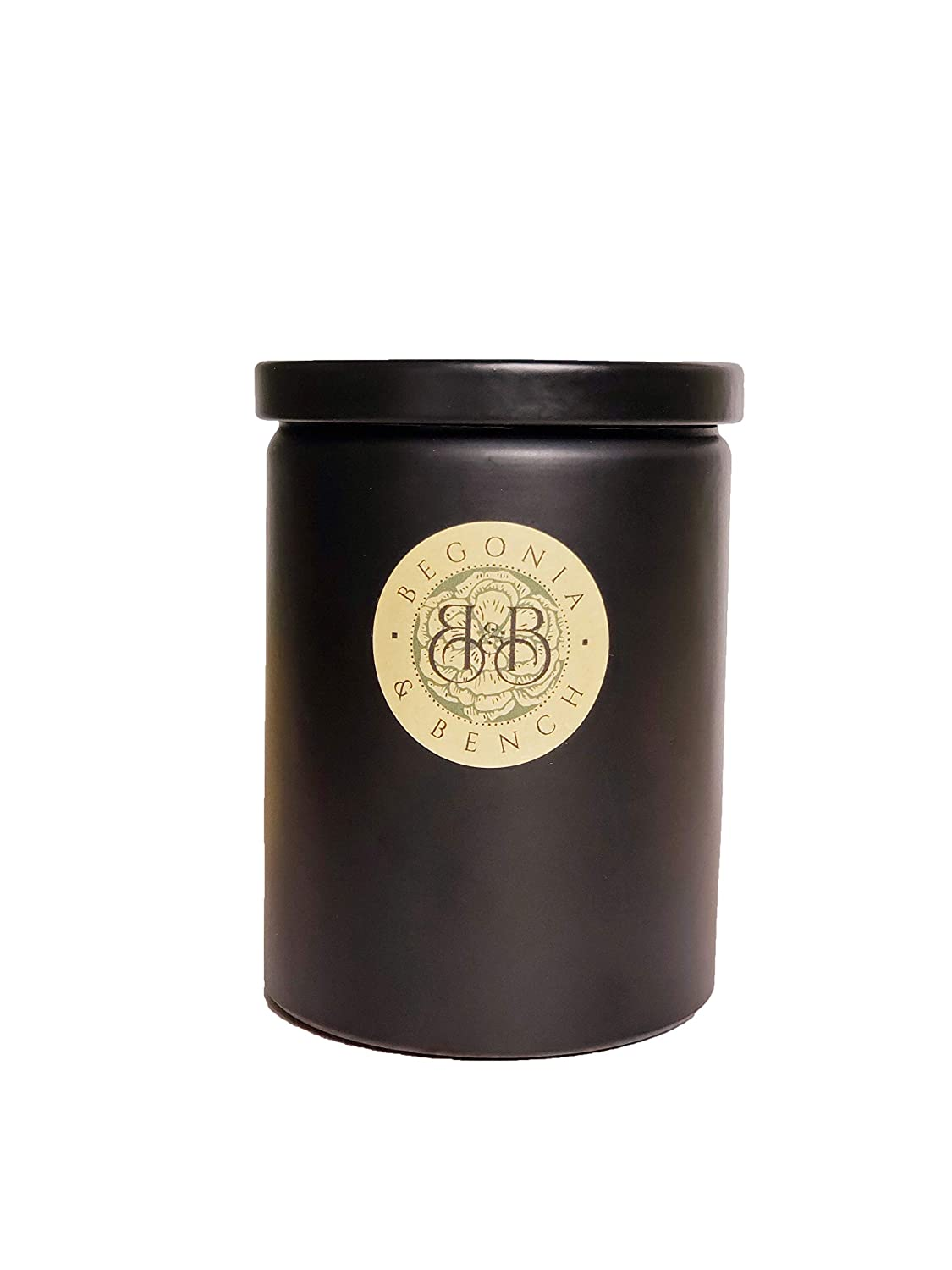 Begonia & Bench, Aromatherapy Botanical Candle, 12 ounce, Slate Scent, Pack of 1