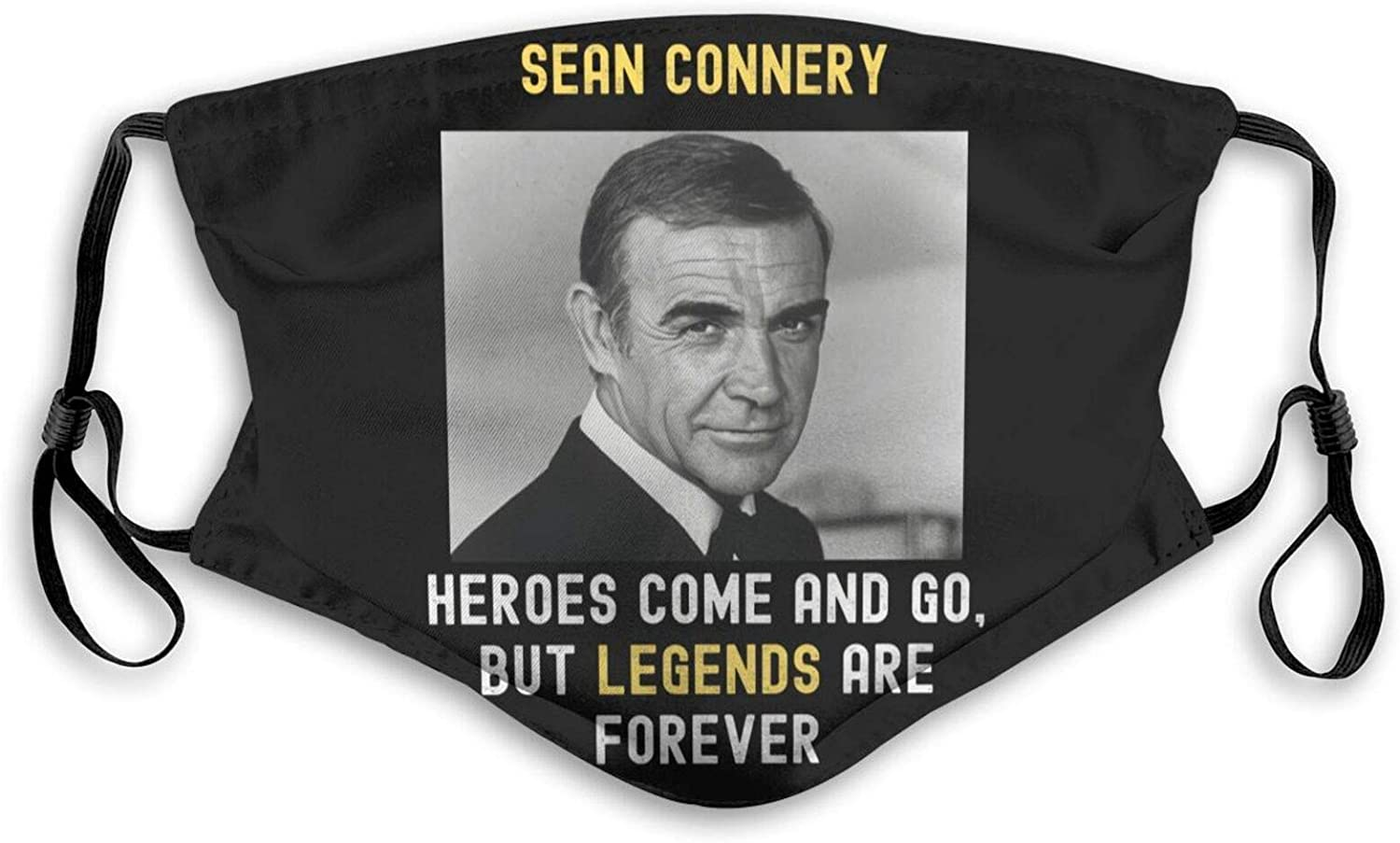 SCOCC Face_Mask Scarf Rip Sir Sean-Connery Face Cover Windproof Washable Mouth Decoration for Men Women Kids
