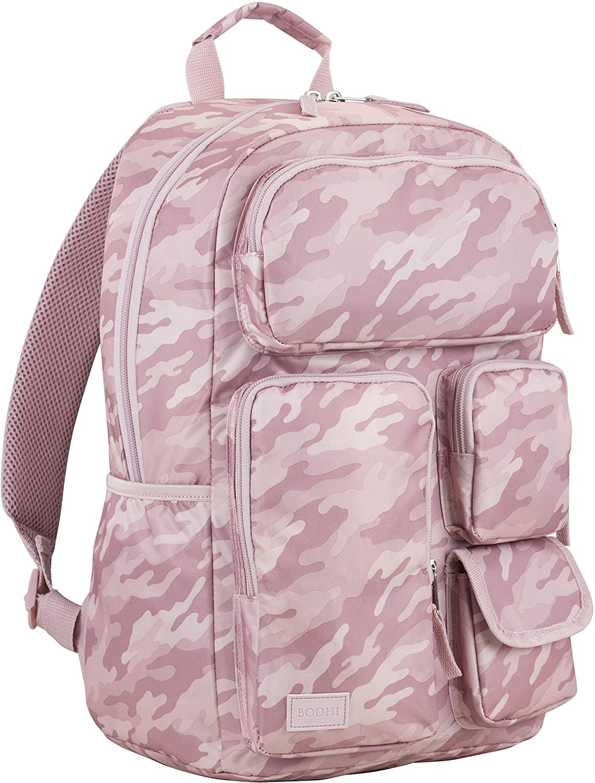 BODHI Universal Cargo Backpack - Dusty Pink Camo