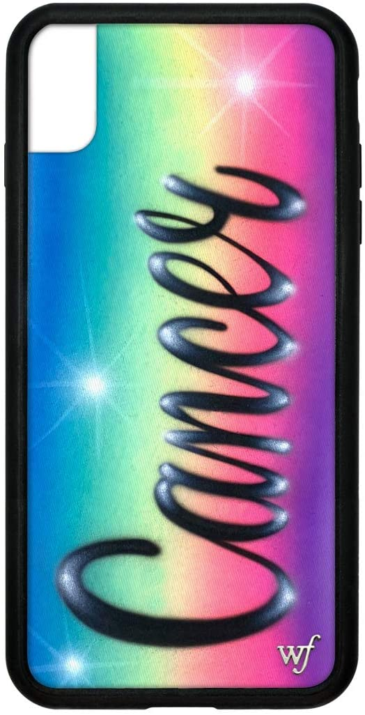 Wildflower Limited Edition Cases Compatible with iPhone Xs Max, Zodiac Collection (Cancer)