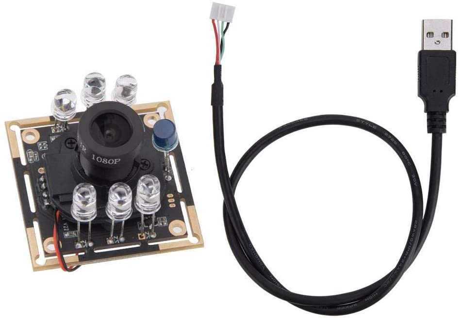 USB Camera Module,Camera Module Web Cams, OV9732 Chip with IR-CUT Infrared Face Recognition 1280x720 30fps 72°