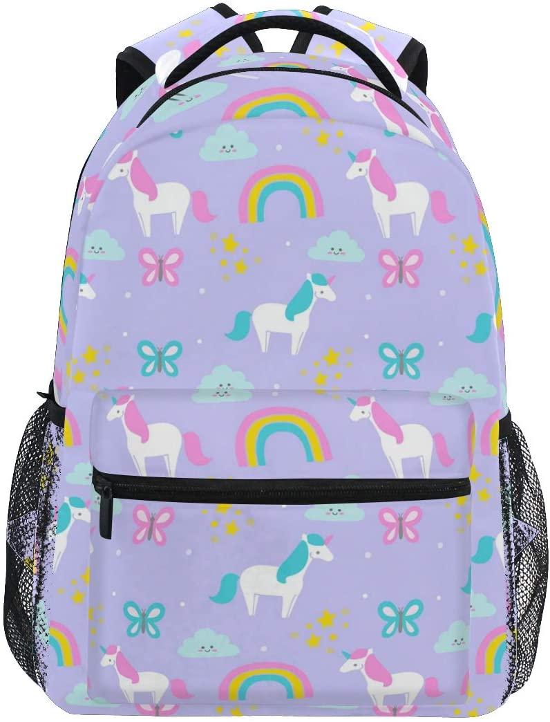 Cute Unicorn Backpack BookBag for Boys Girls Elementary School 2021804