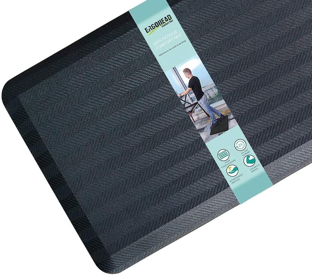Ergohead Anti Fatigue Floor Mat Kitchen Mat 3/4