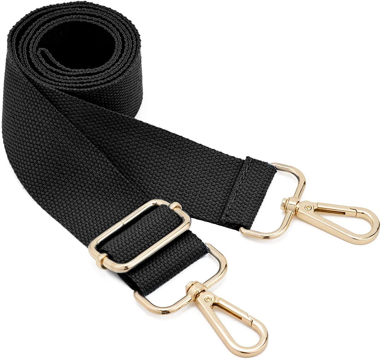 DEVPSISR Wide Shoulder Purse Strap Replacement Adjustable Belt Canvas Bag Crossbody Handbag