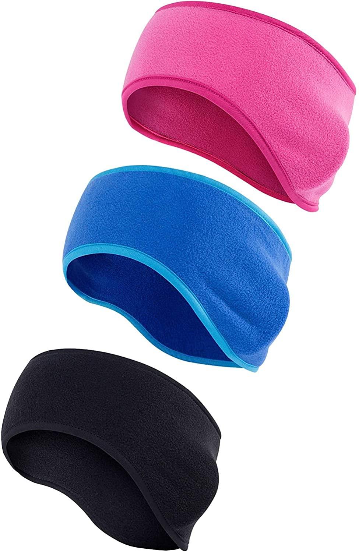Century Star Fleece Ear Warmers Muff Winter Headband for Men Women Ear Cover For Running Yoga Skiing Cycling Sports